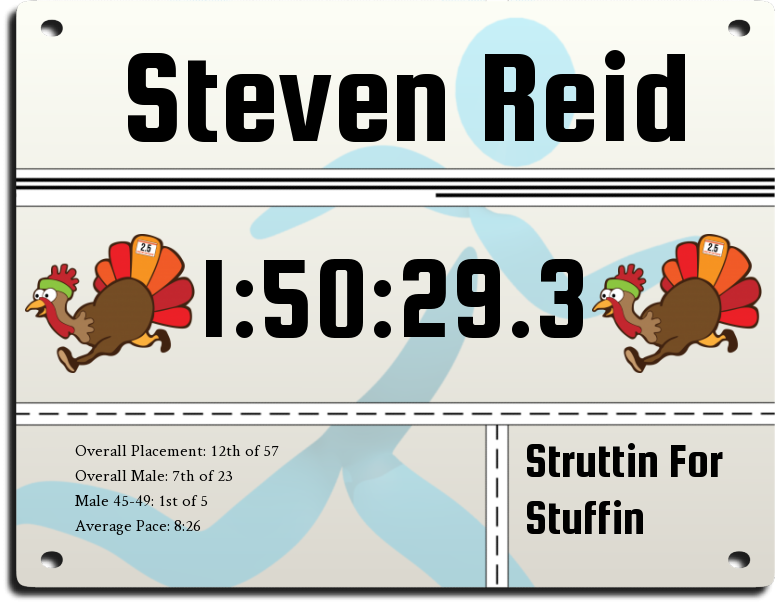 Image for race Struttin For Stuffin