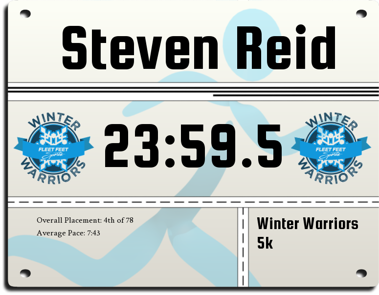 Image for race Winter Warriors 5k