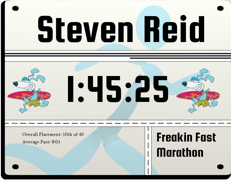 Image for race Freakin Fast Marathon